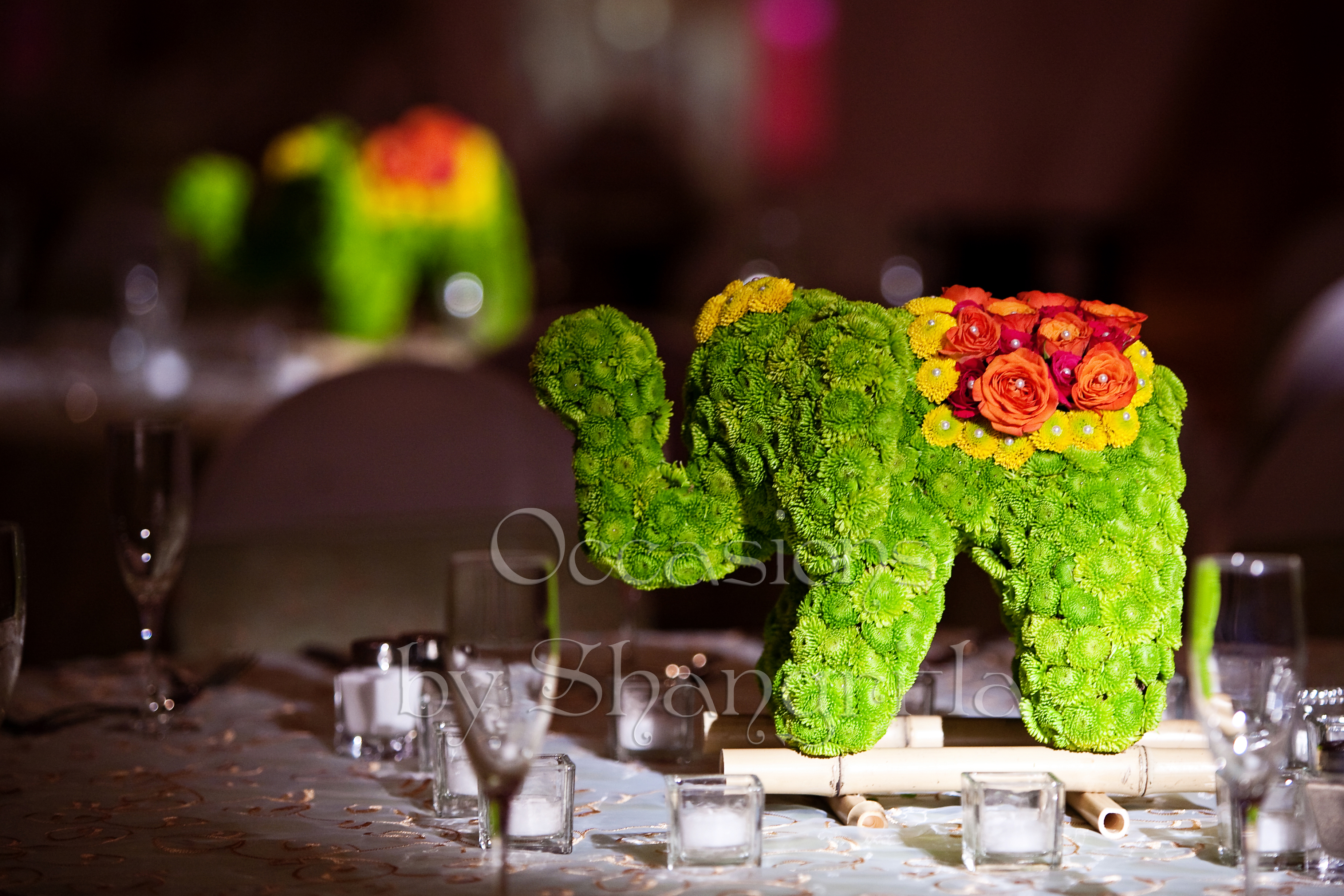 A Mandap Made Entirely Of Flora Occasions By Shangrila