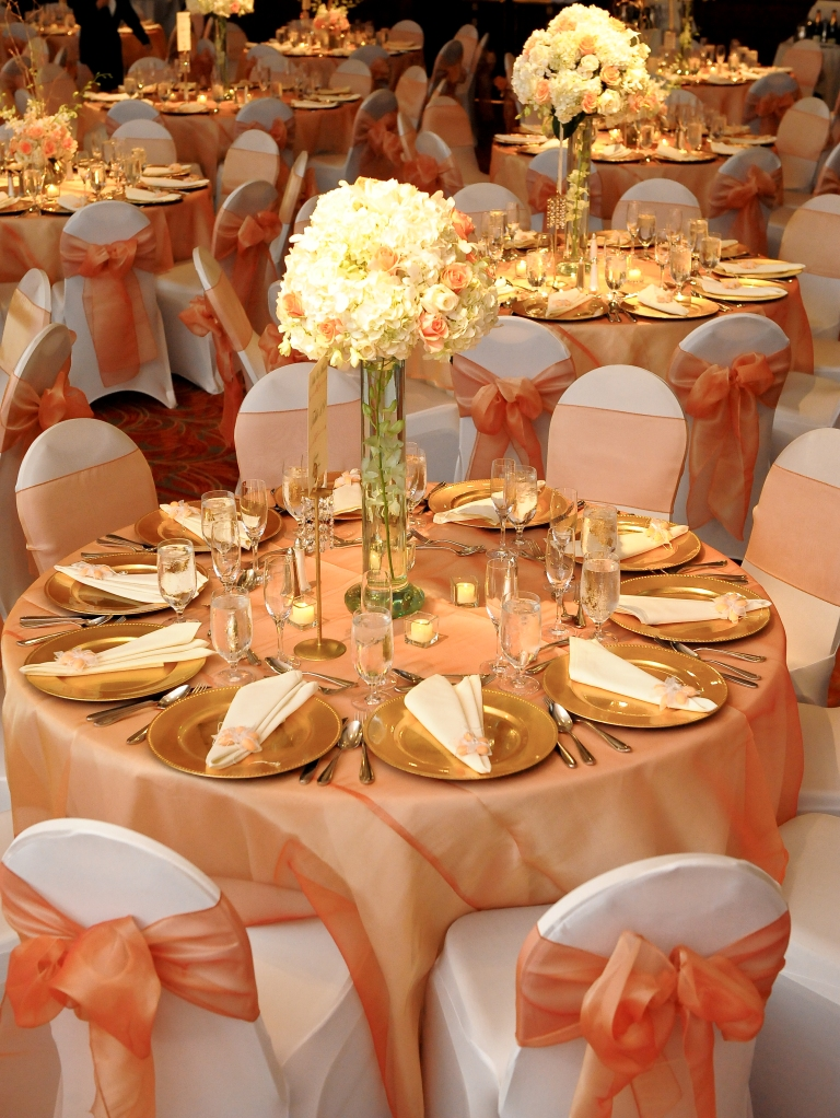 gold wedding decor flashback friday aditi vora s wedding june 2008 4548