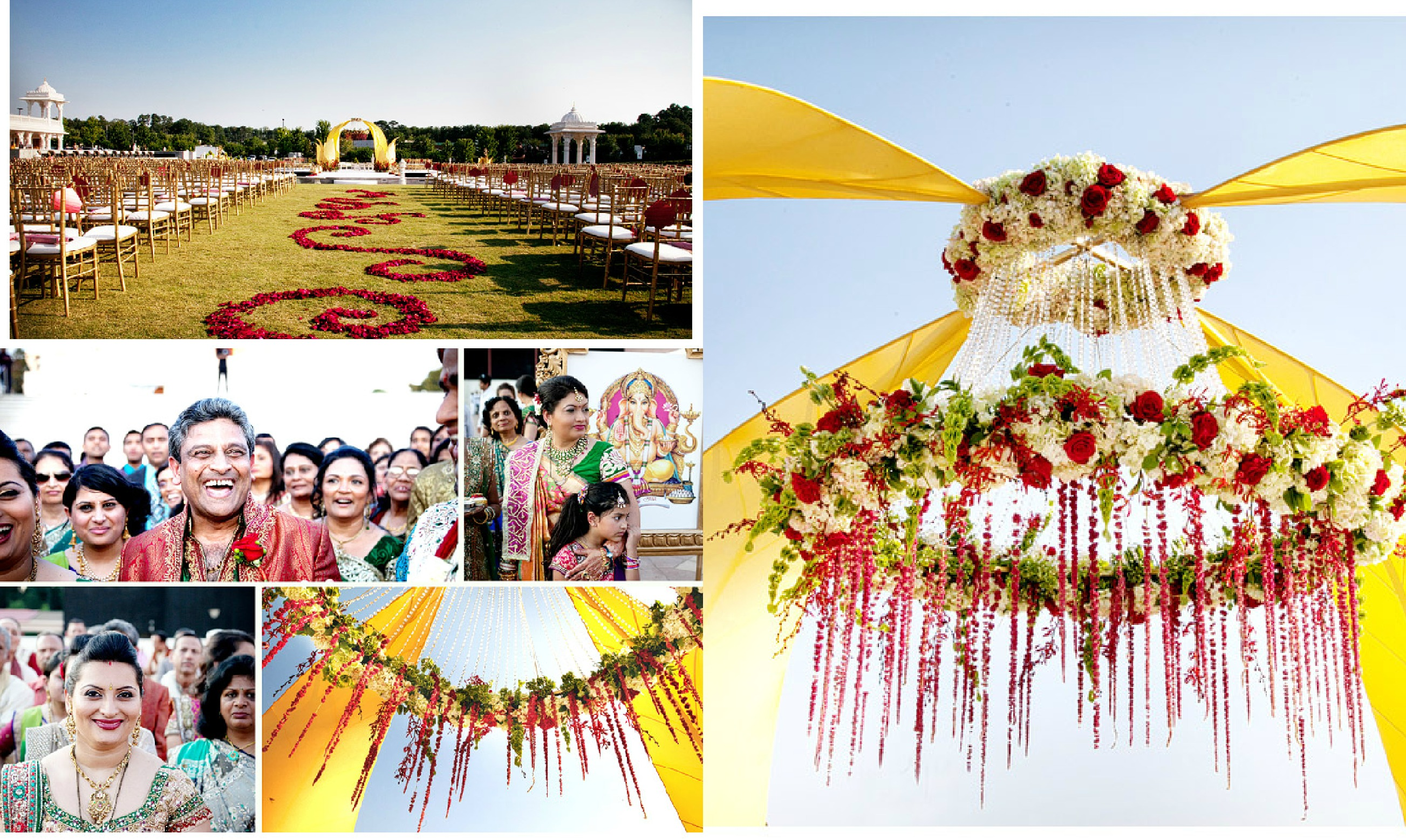 Married Inside a Lotus Blossom - Nikisha and Priyesh - Occasions